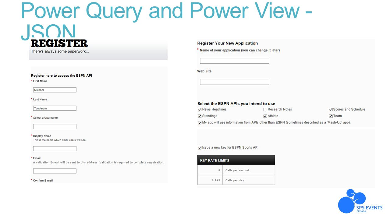 Power Query and Power View - JSON