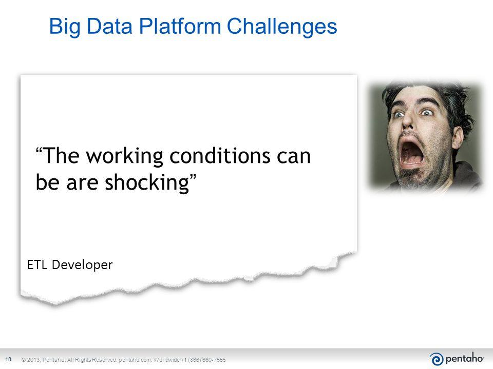 Big Data Platform Challenges