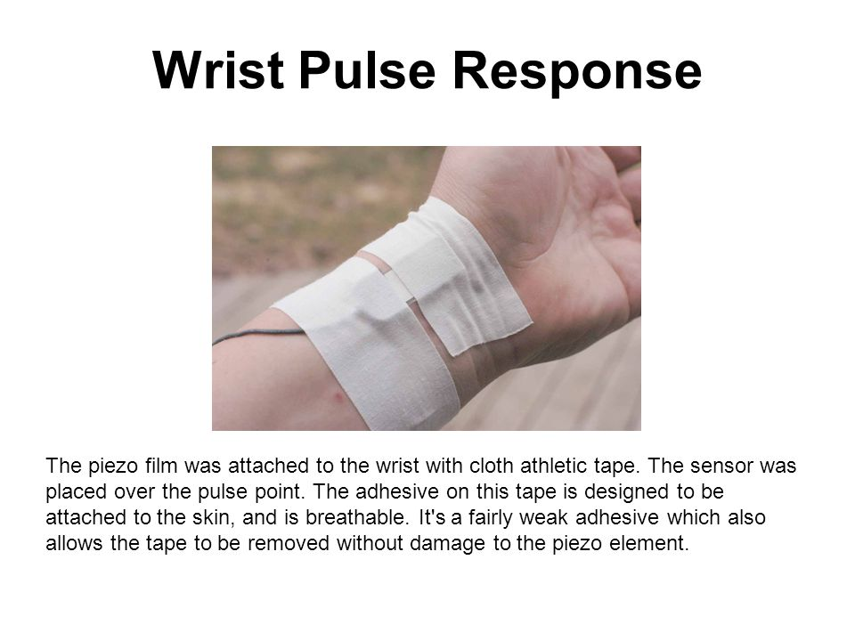 Wrist Pulse Response