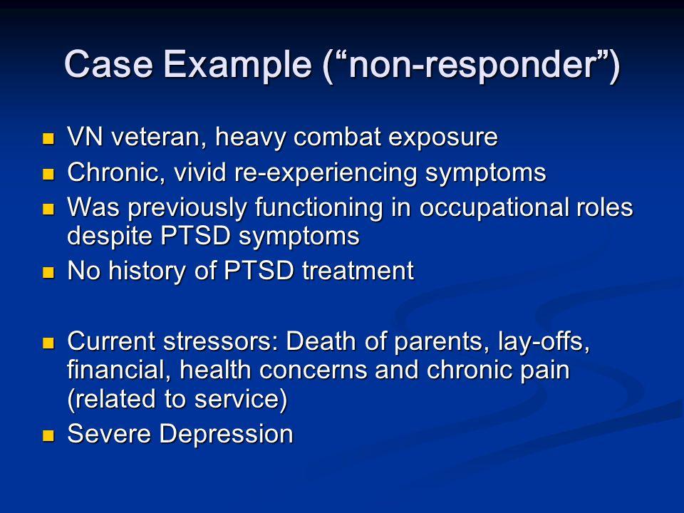 Case Example ( non-responder )