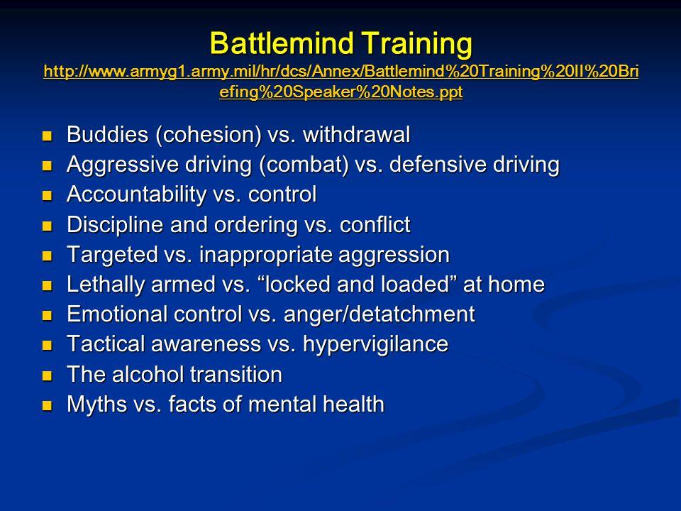 Battlemind Training http://www. armyg1. army