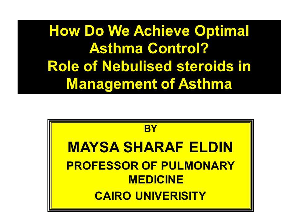 How Do We Achieve Optimal Asthma Control