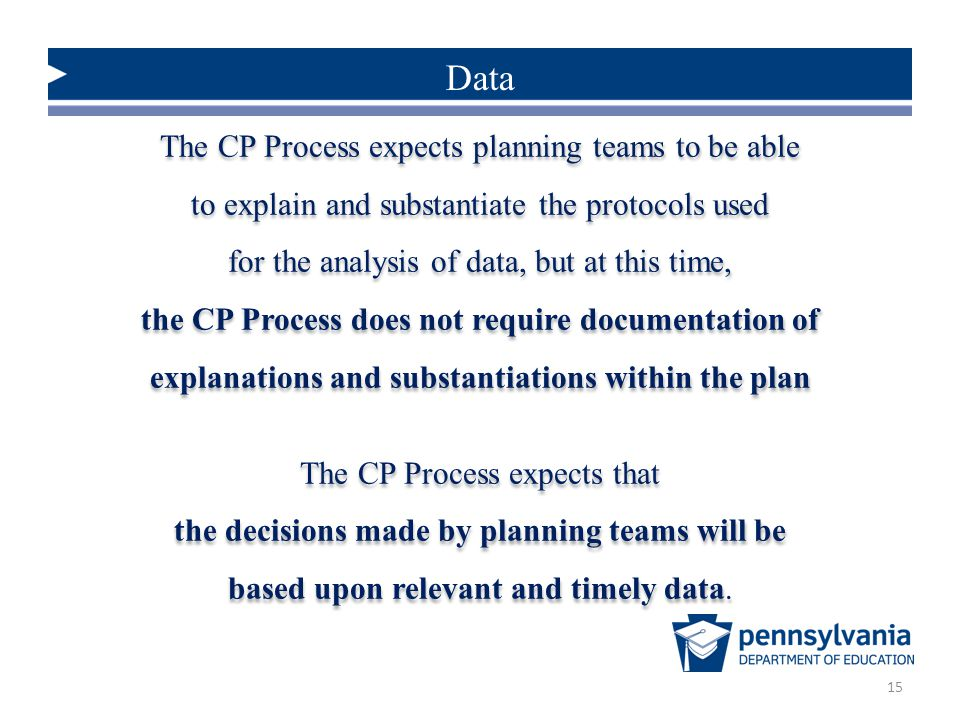 the decisions made by planning teams will be