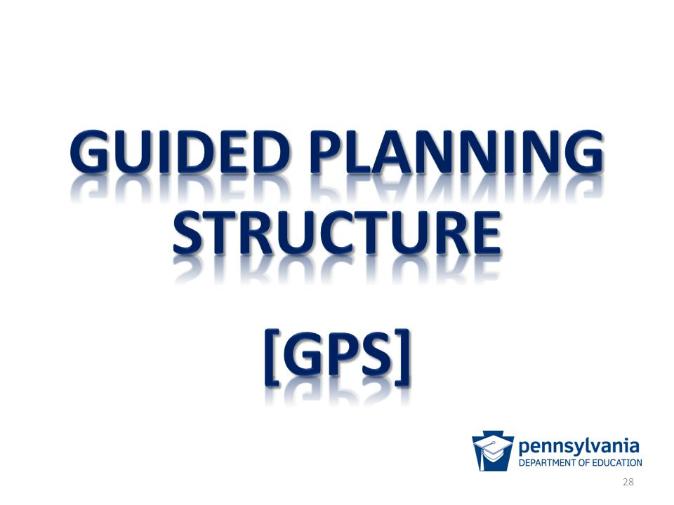 Guided planning structure
