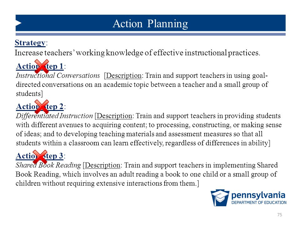action strategies used with adult learners