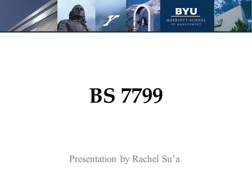Presentation by Rachel Su'a