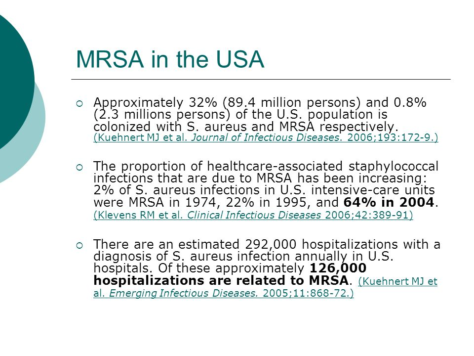 MRSA in the USA