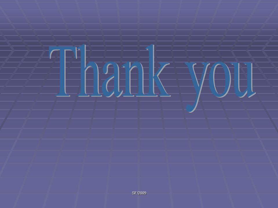 Thank you SF/2009