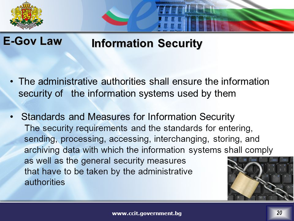 E-Gov Law Information Security