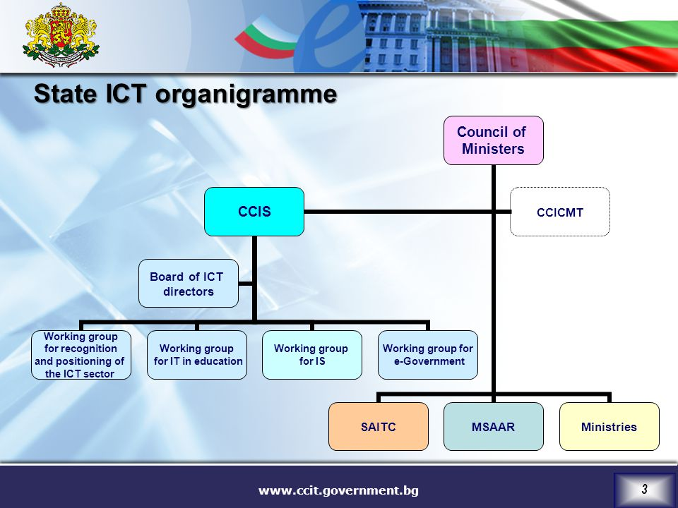 State ICT organigramme