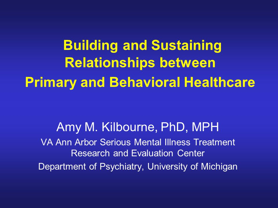 Department of Psychiatry, University of Michigan