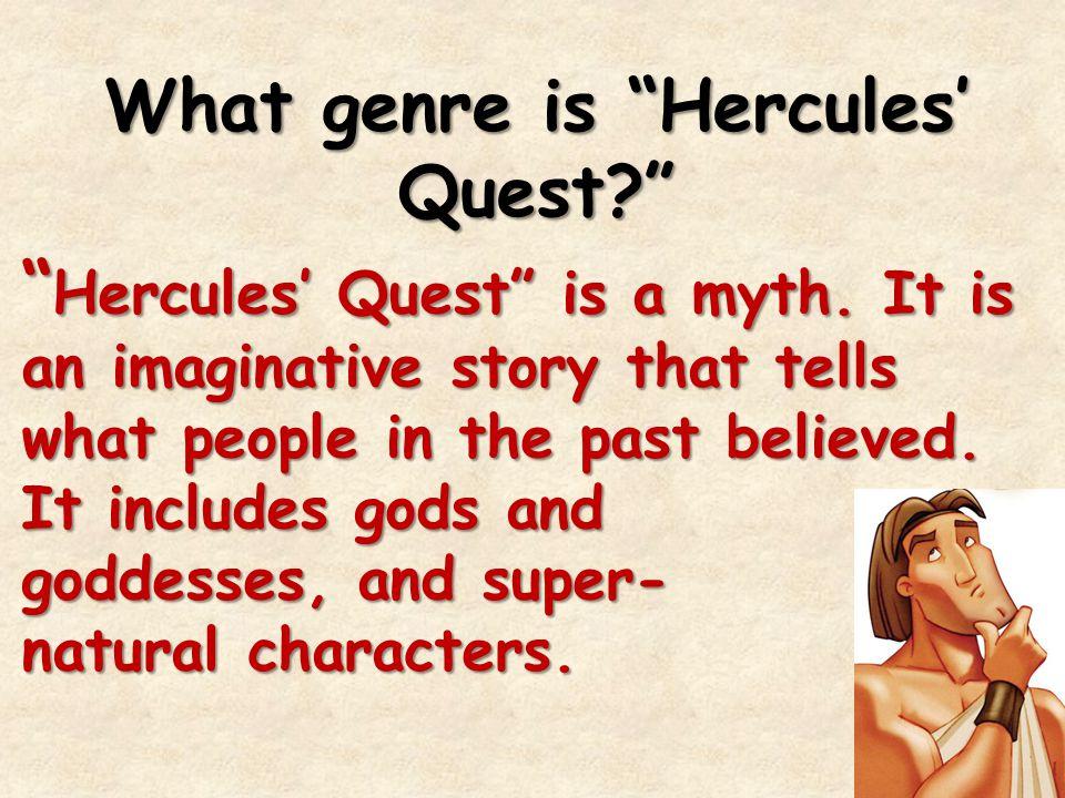 What genre is Hercules' Quest