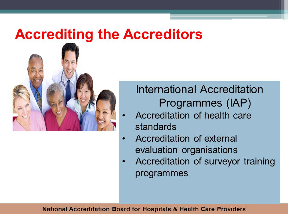 Accrediting the Accreditors