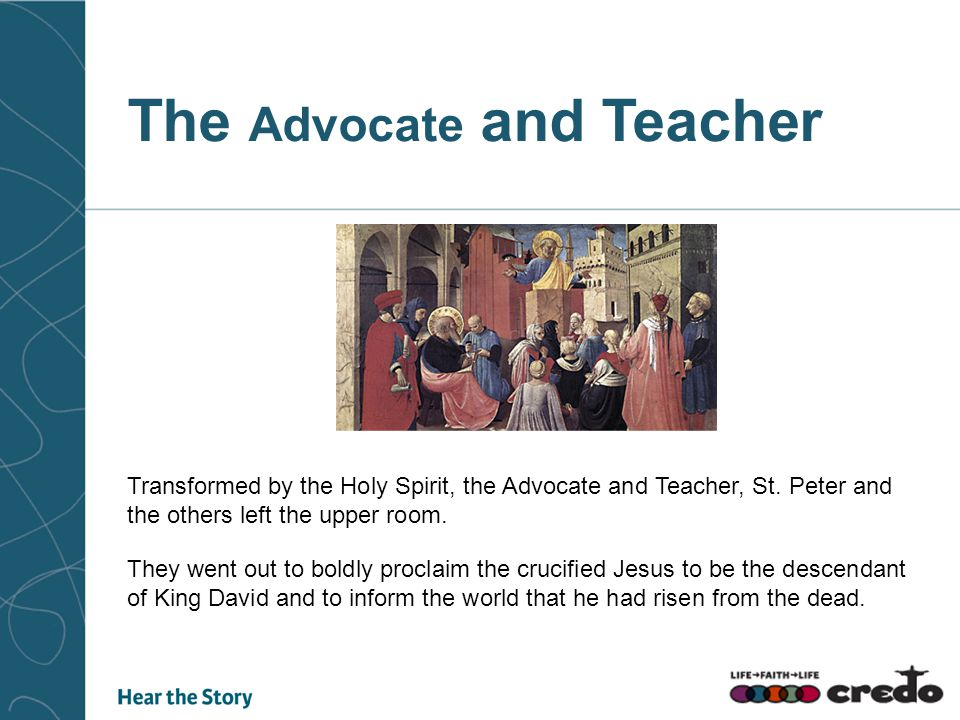 The Advocate and Teacher
