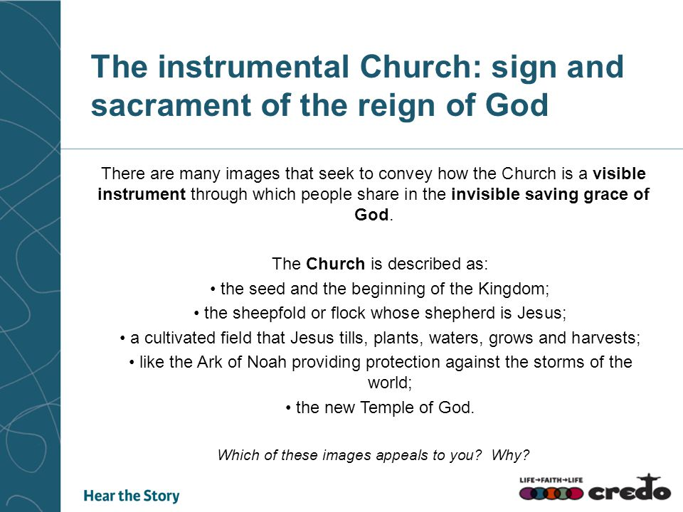 The instrumental Church: sign and sacrament of the reign of God