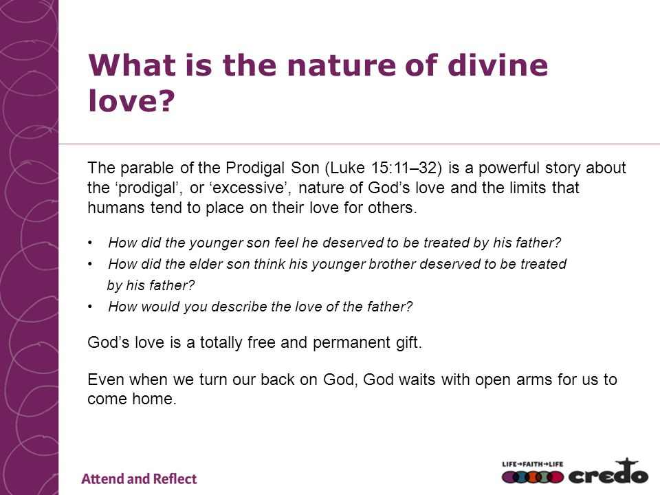 What is the nature of divine love