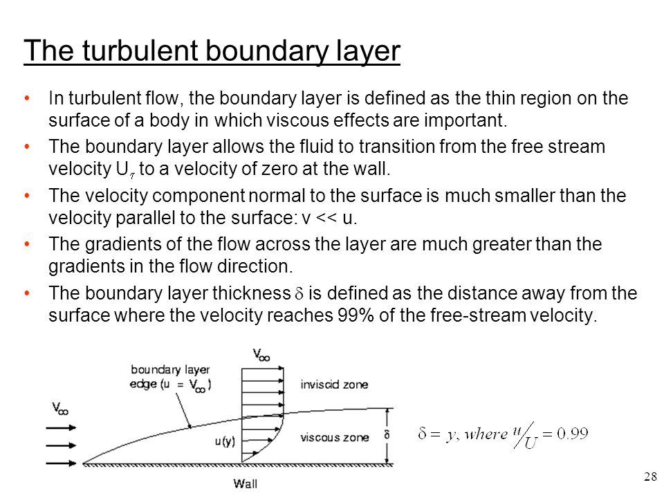 The turbulent boundary layer
