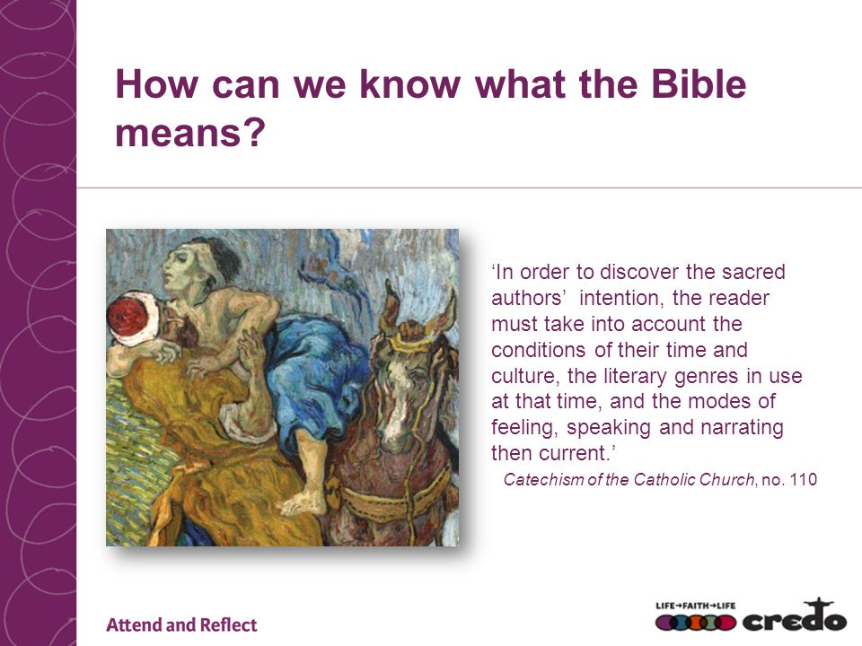 How can we know what the Bible means