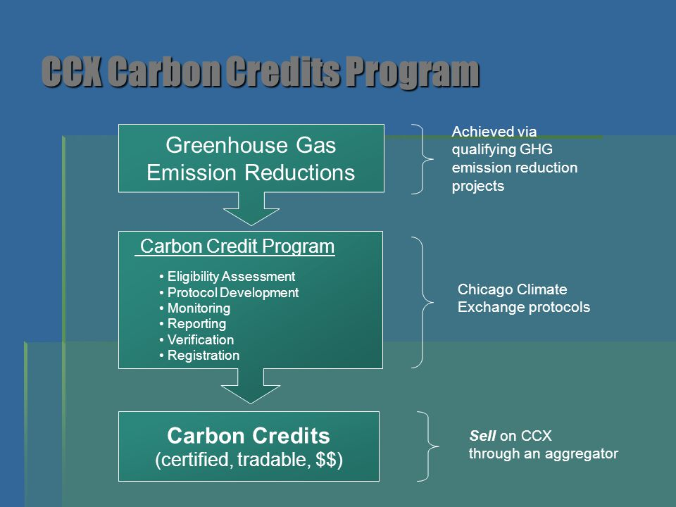 CCX Carbon Credits Program