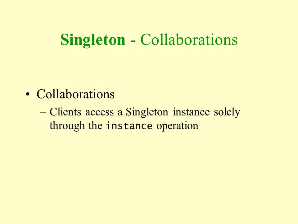 Singleton - Collaborations