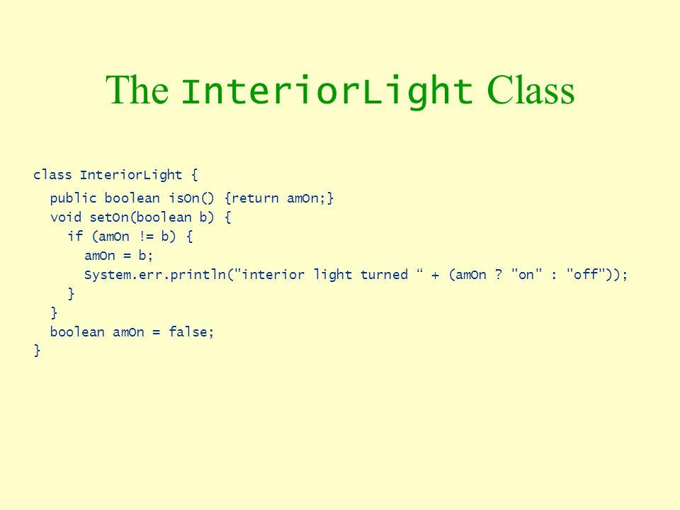 The InteriorLight Class