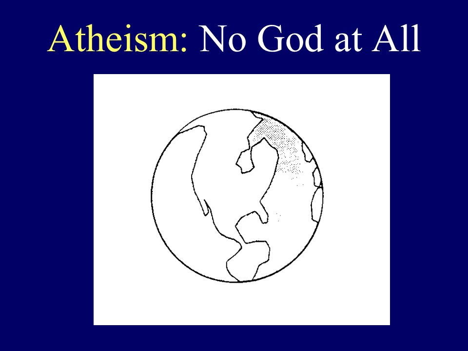 Atheism: No God at All