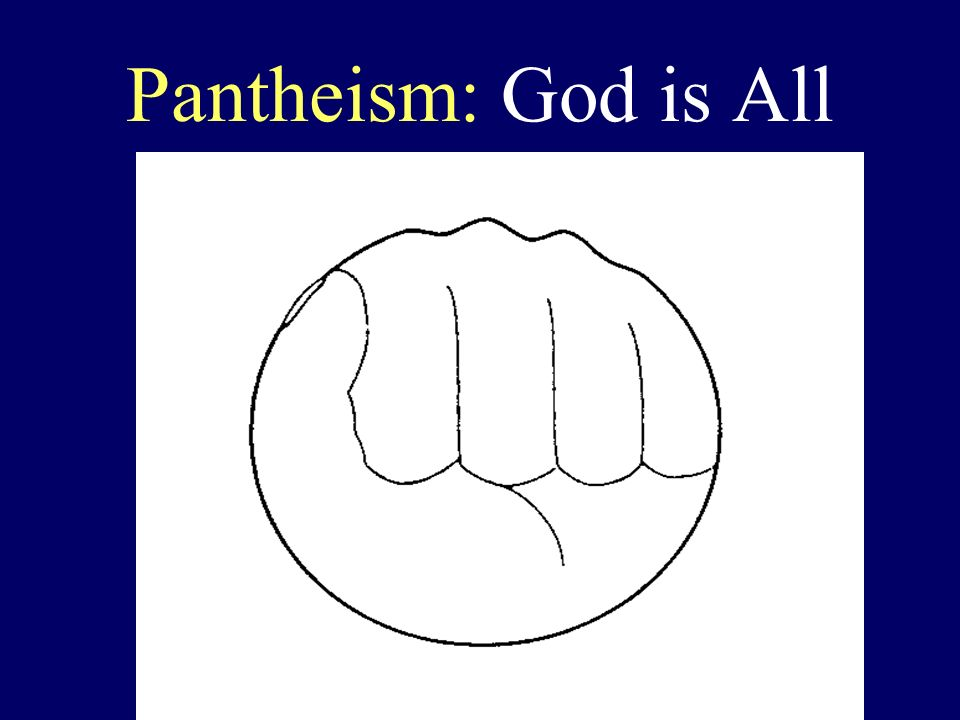 Pantheism: God is All