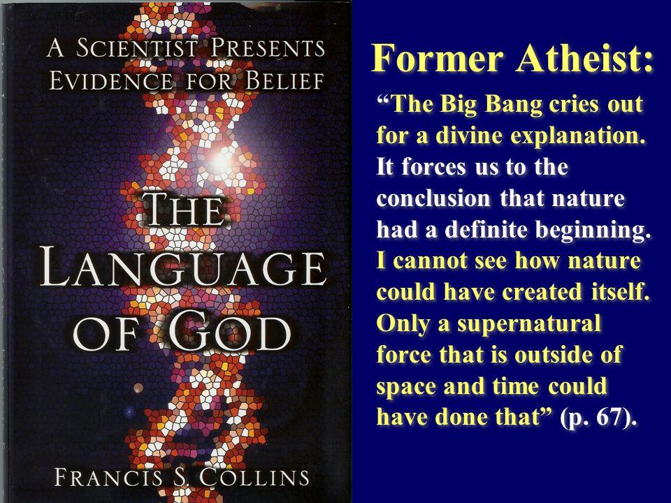 Former Atheist: