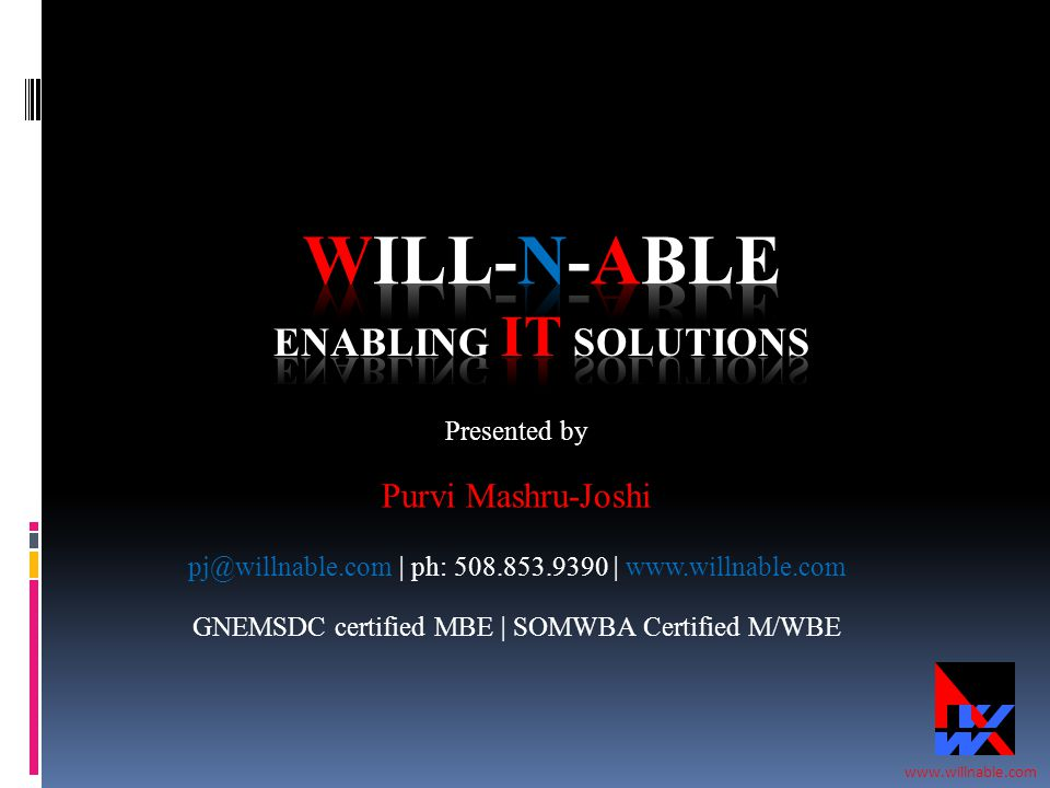 Will-N-Able Enabling IT Solutions