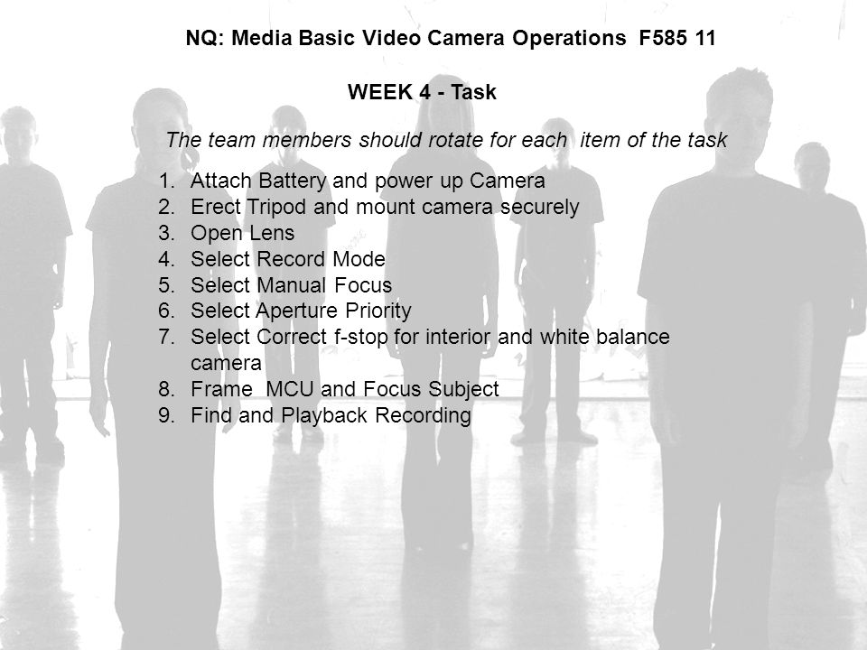 NQ: Media Basic Video Camera Operations F585 11