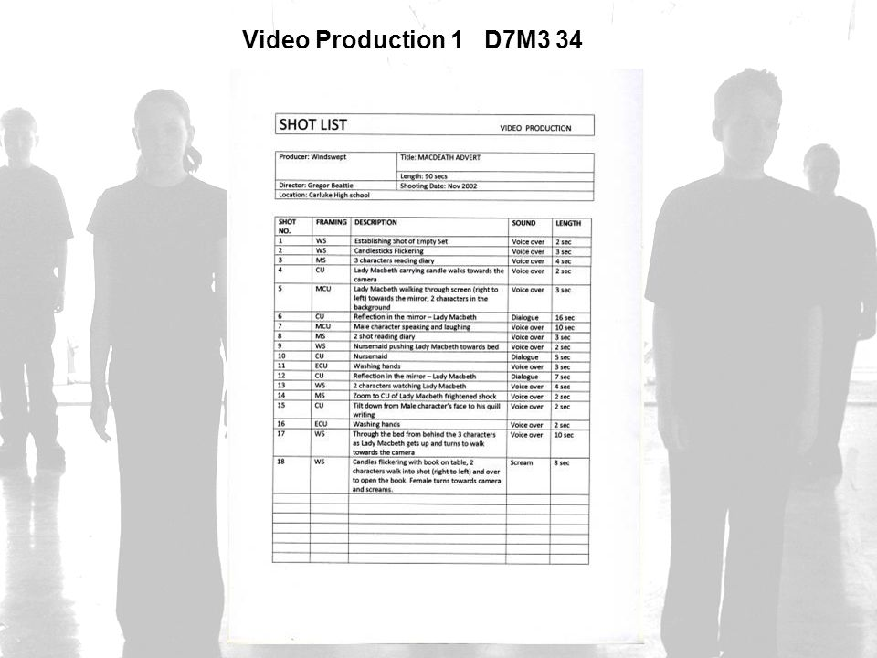 Video Production 1 D7M3 34