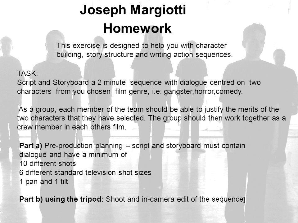 Joseph Margiotti Homework