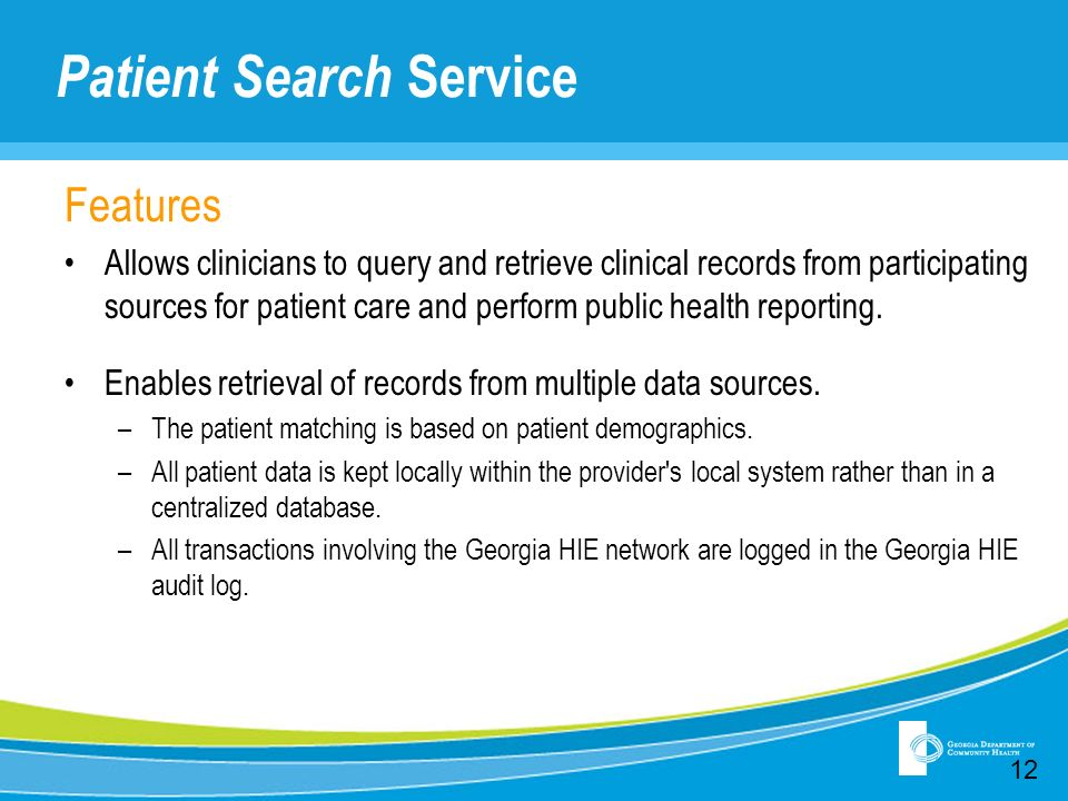 Patient Search Service