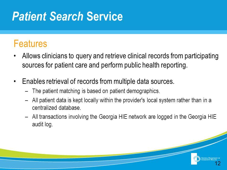 Patient Search Service