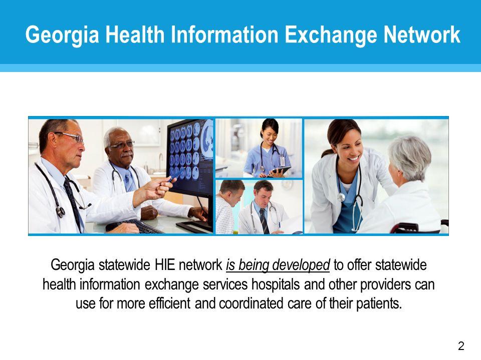 Georgia Health Information Exchange Network