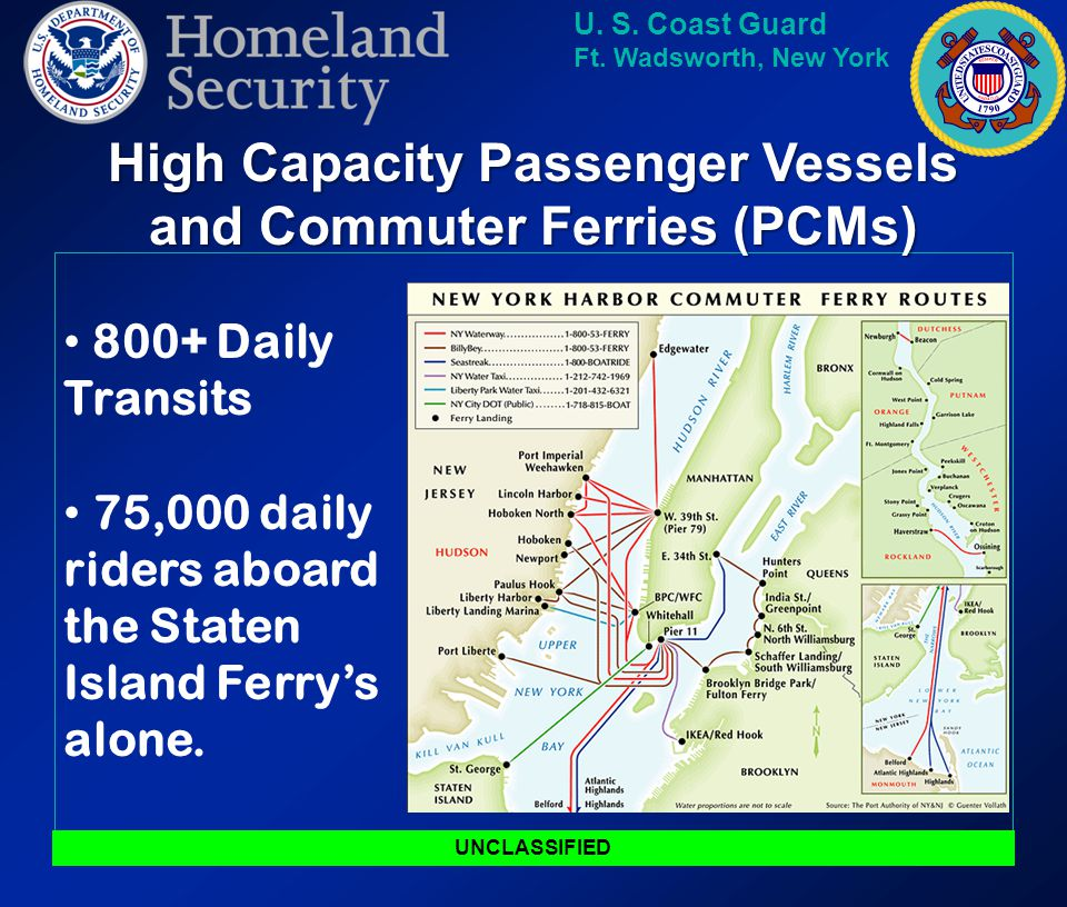 High Capacity Passenger Vessels and Commuter Ferries (PCMs)