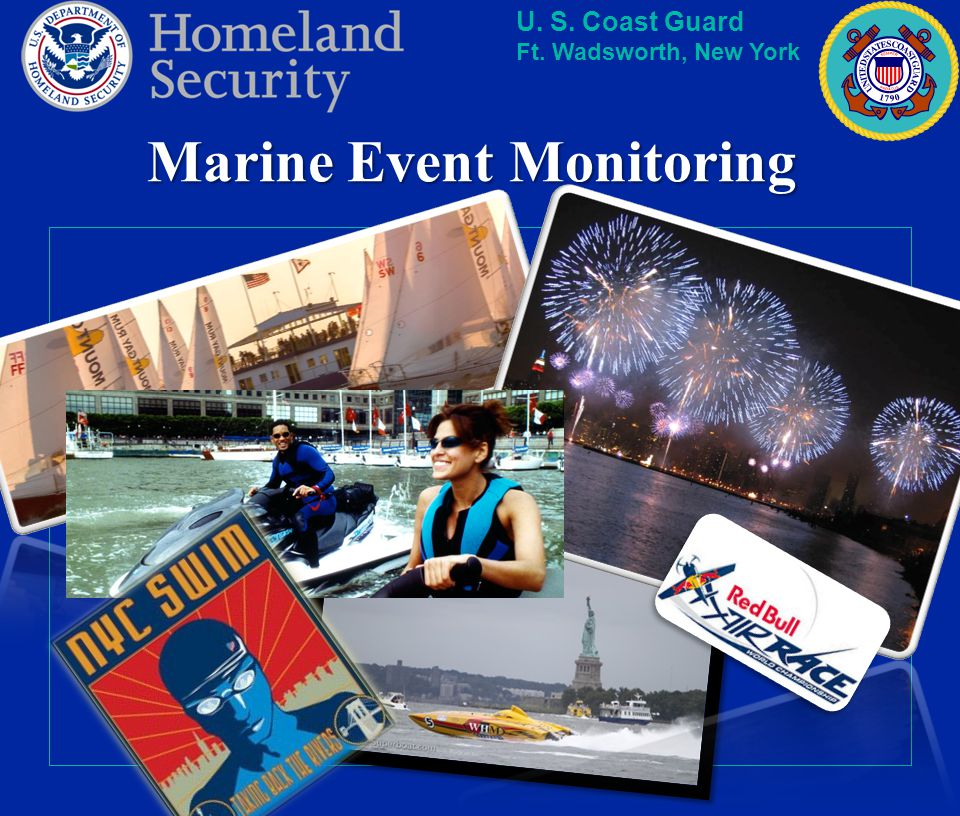 Marine Event Monitoring