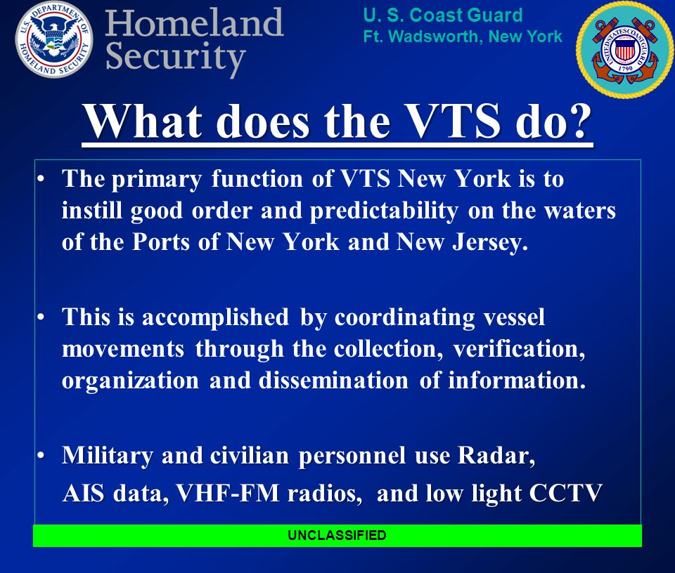What does the VTS do