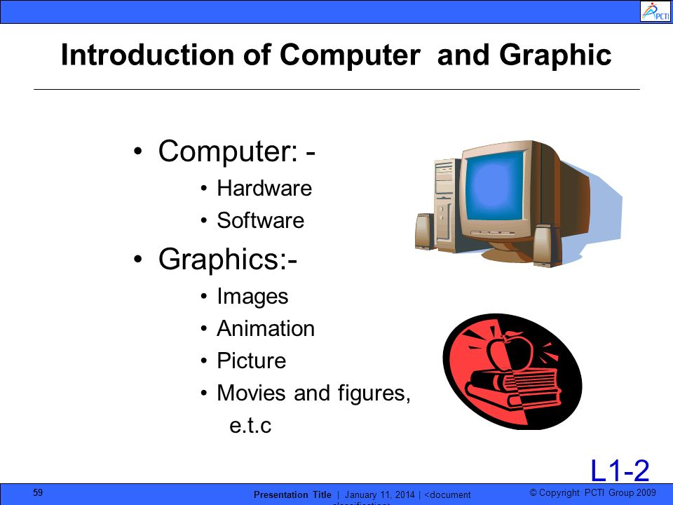 Introduction of Computer and Graphic