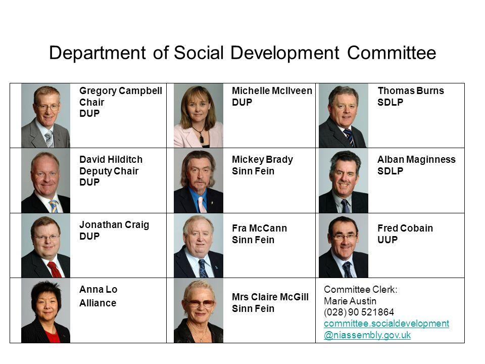 Department of Social Development Committee