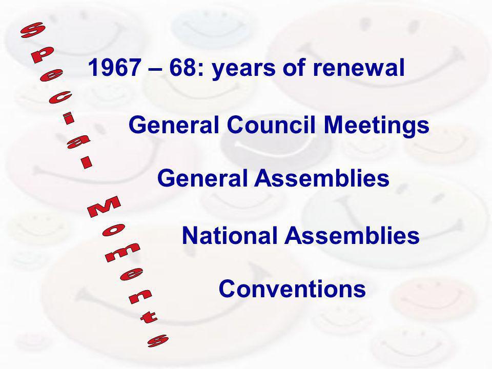 General Council Meetings