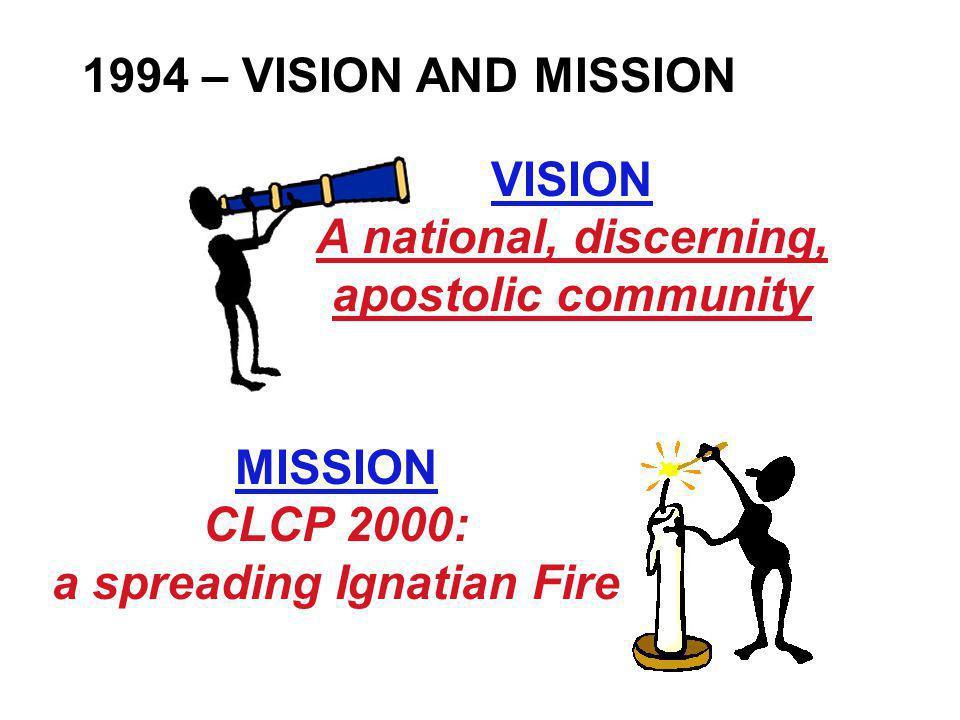 VISION A national, discerning, apostolic community