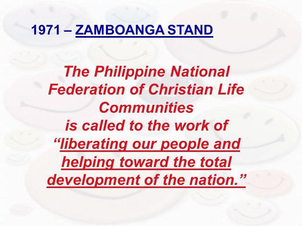 1971 – ZAMBOANGA STAND