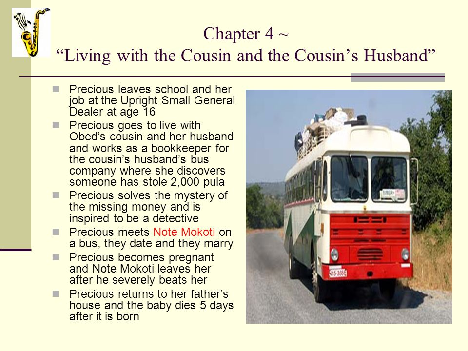 Chapter 4 ~ Living with the Cousin and the Cousin's Husband