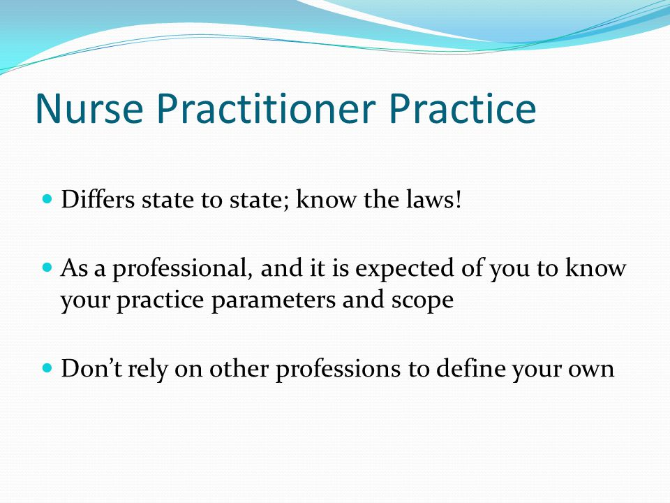Nurse Practitioner Practice