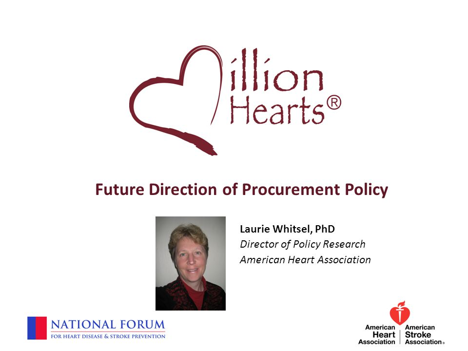 Future Direction of Procurement Policy