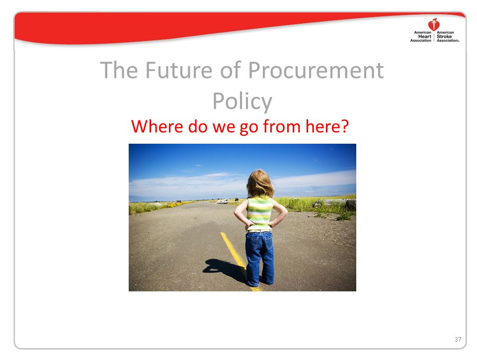 The Future of Procurement Policy