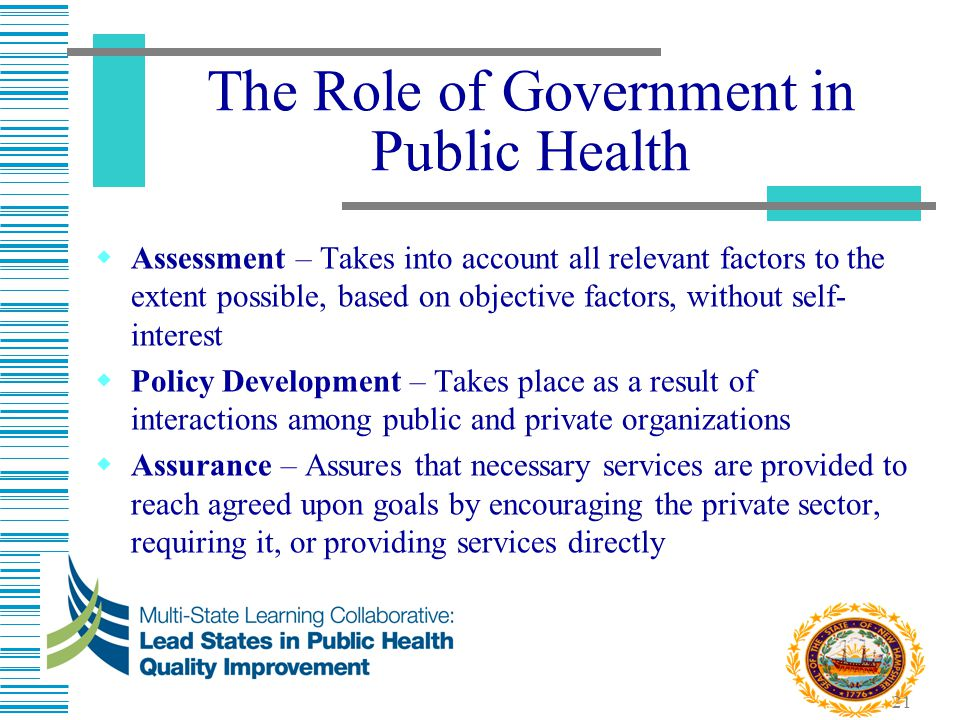 government roles in healthcare Role of government in market economy government plays a crucial role in the market economy by ensuring the laws and regulation are abide by, and control the production of the private sectors, although, over the years its efforts in controlling such economies are minimal and insignificant.