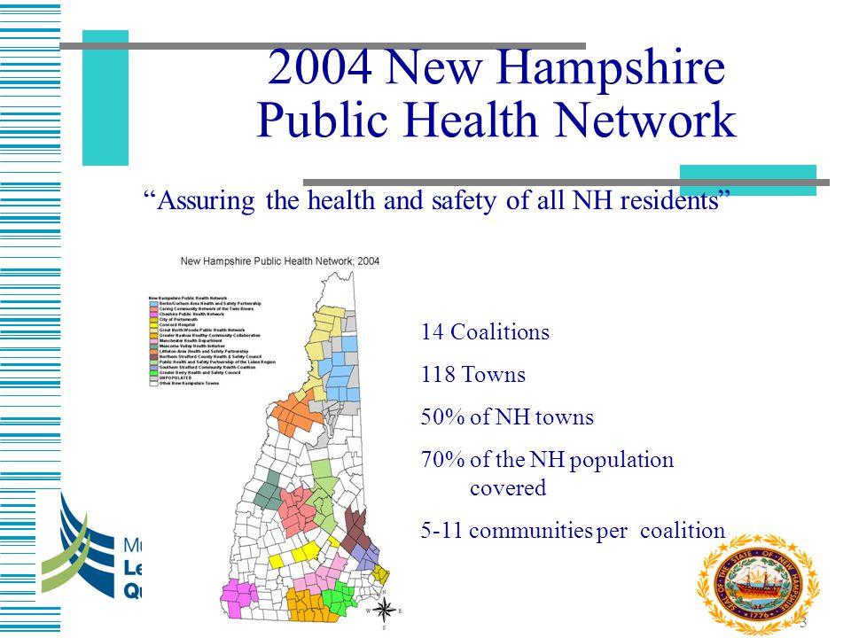 2004 New Hampshire Public Health Network