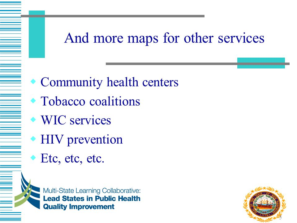 And more maps for other services